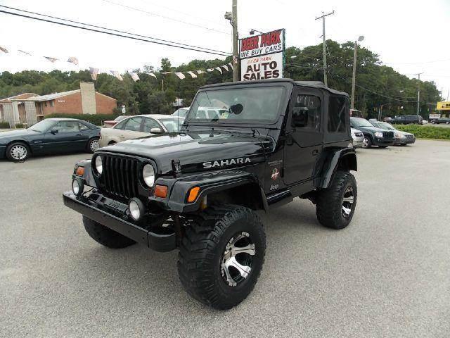 1997 Jeep Wrangler Sahara   Newport News VA