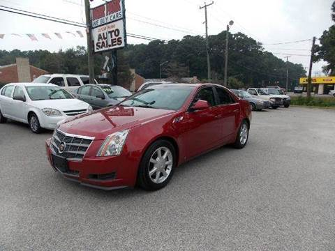 2008 Cadillac CTS for sale at Deer Park Auto Sales Corp in Newport News VA