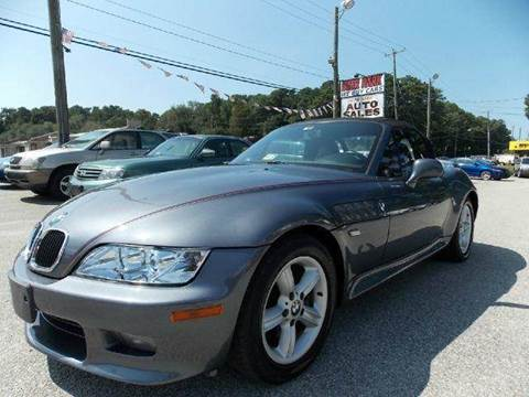 2000 BMW Z3 for sale at Deer Park Auto Sales Corp in Newport News VA
