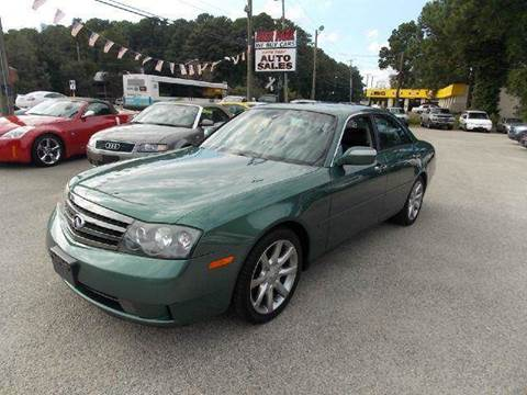 2003 Infiniti M45 for sale at Deer Park Auto Sales Corp in Newport News VA