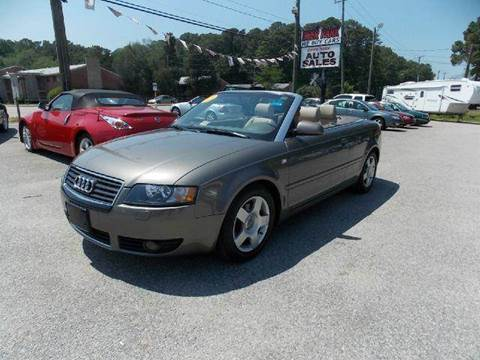 2003 Audi A4 for sale at Deer Park Auto Sales Corp in Newport News VA