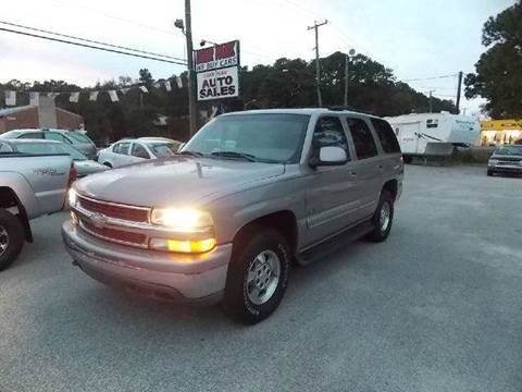 2001 Chevrolet Tahoe for sale at Deer Park Auto Sales Corp in Newport News VA