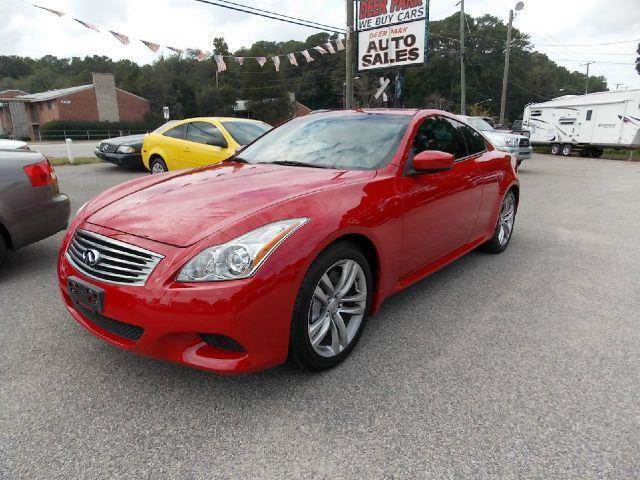2008 Infiniti G37 for sale at Deer Park Auto Sales Corp in Newport News VA