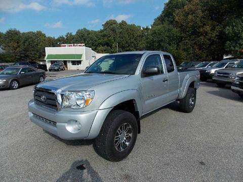2007 Toyota Tacoma for sale at Deer Park Auto Sales Corp in Newport News VA