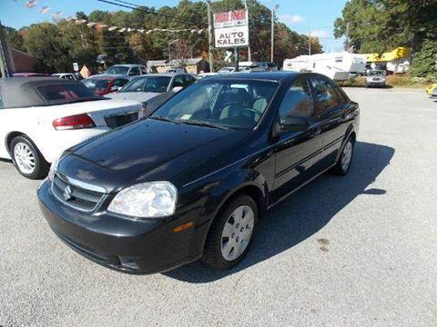 2008 Suzuki Forenza for sale at Deer Park Auto Sales Corp in Newport News VA