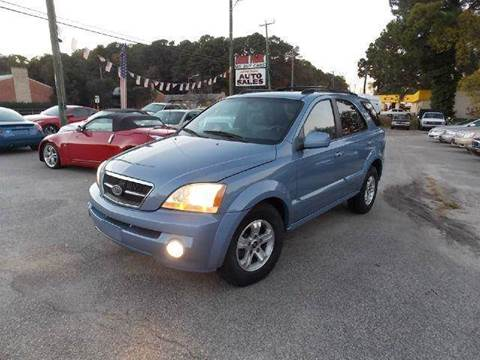 2005 Kia Sorento for sale at Deer Park Auto Sales Corp in Newport News VA