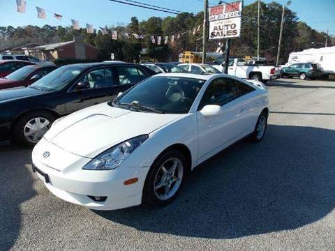 2004 Toyota Celica for sale at Deer Park Auto Sales Corp in Newport News VA