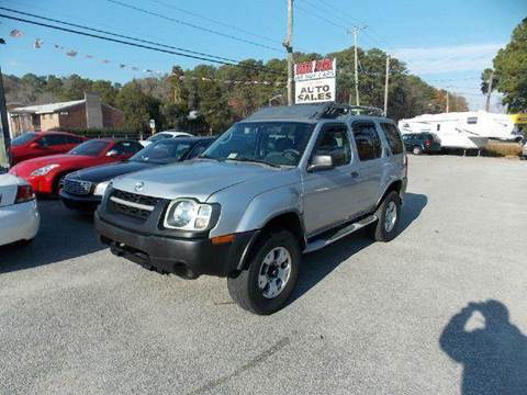 2002 Nissan Xterra for sale at Deer Park Auto Sales Corp in Newport News VA