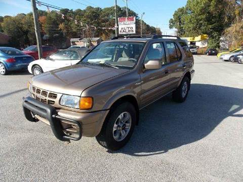 2001 Isuzu Rodeo for sale at Deer Park Auto Sales Corp in Newport News VA