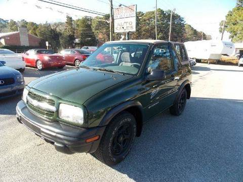 2001 Chevrolet Tracker for sale at Deer Park Auto Sales Corp in Newport News VA