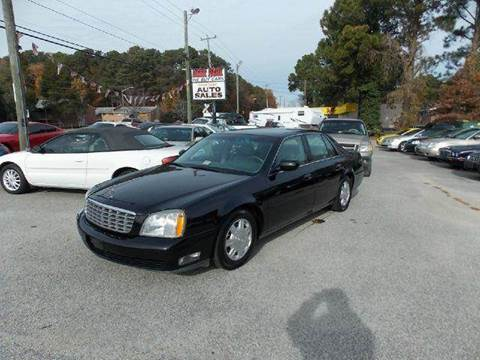 2004 Cadillac DeVille for sale at Deer Park Auto Sales Corp in Newport News VA