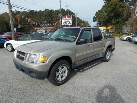 2005 Ford Explorer Sport Trac for sale at Deer Park Auto Sales Corp in Newport News VA