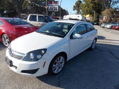 2008 Saturn Astra for sale at Deer Park Auto Sales Corp in Newport News VA