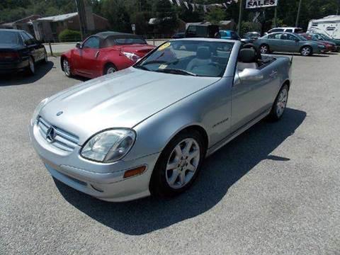 2001 Mercedes-Benz SLK-Class for sale at Deer Park Auto Sales Corp in Newport News VA