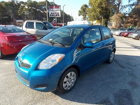2010 Toyota Yaris for sale at Deer Park Auto Sales Corp in Newport News VA