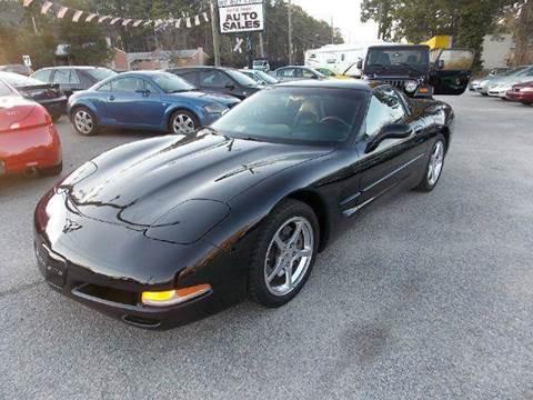 2002 Chevrolet Corvette for sale at Deer Park Auto Sales Corp in Newport News VA