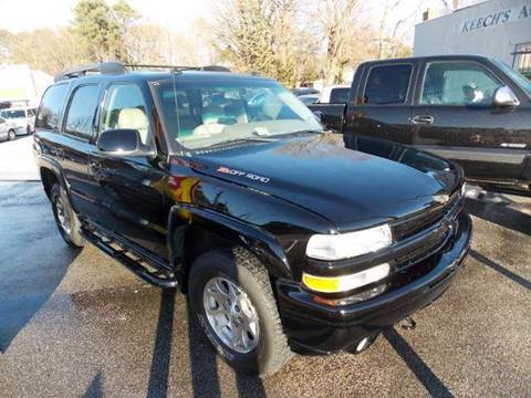 2003 Chevrolet Tahoe for sale at Deer Park Auto Sales Corp in Newport News VA
