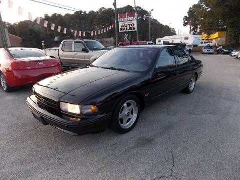 1996 Chevrolet Impala for sale at Deer Park Auto Sales Corp in Newport News VA
