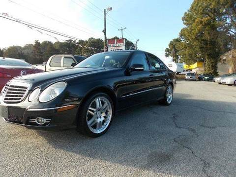 2007 Mercedes-Benz E-Class for sale at Deer Park Auto Sales Corp in Newport News VA