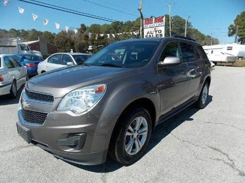 2010 Chevrolet Equinox for sale at Deer Park Auto Sales Corp in Newport News VA