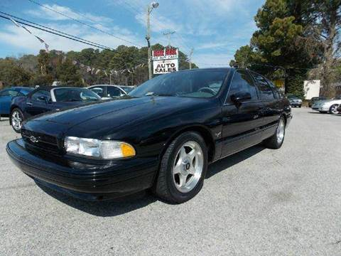 1994 Chevrolet Impala for sale at Deer Park Auto Sales Corp in Newport News VA