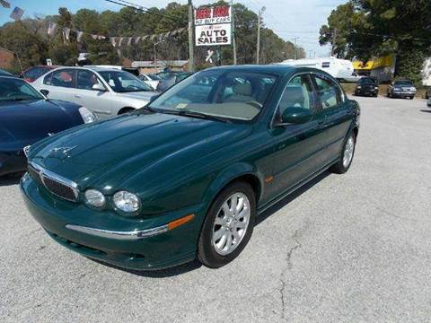 2002 Jaguar X-Type for sale at Deer Park Auto Sales Corp in Newport News VA