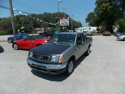2000 Nissan Frontier for sale at Deer Park Auto Sales Corp in Newport News VA