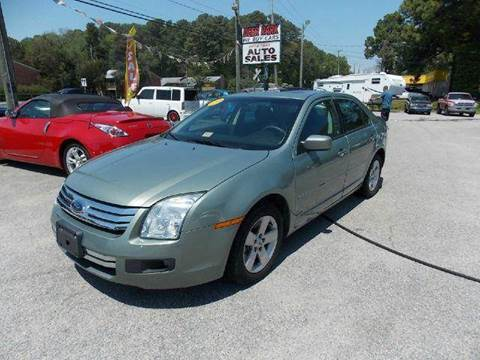 2009 Ford Fusion for sale at Deer Park Auto Sales Corp in Newport News VA