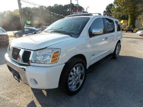 2006 Nissan Armada for sale at Deer Park Auto Sales Corp in Newport News VA