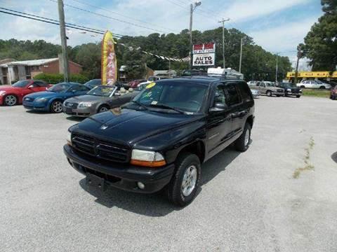 2001 Dodge Durango for sale at Deer Park Auto Sales Corp in Newport News VA