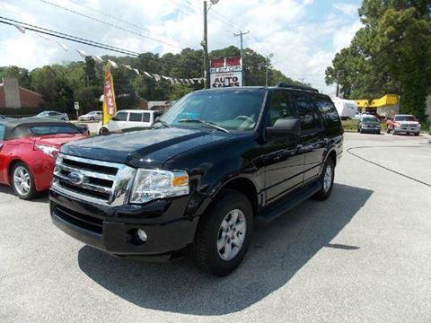 2009 Ford Expedition for sale at Deer Park Auto Sales Corp in Newport News VA