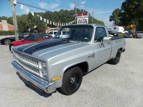 1981 Chevrolet C/K 10 Series for sale at Deer Park Auto Sales Corp in Newport News VA