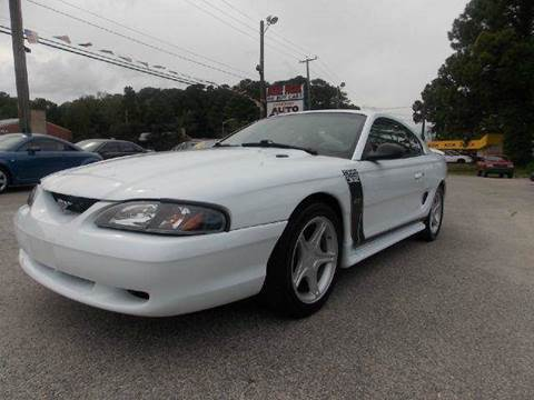 1998 Ford Mustang for sale at Deer Park Auto Sales Corp in Newport News VA
