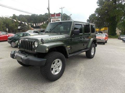 2008 Jeep Wrangler Unlimited for sale at Deer Park Auto Sales Corp in Newport News VA