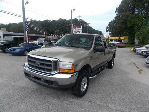 2001 Ford F-250 for sale at Deer Park Auto Sales Corp in Newport News VA