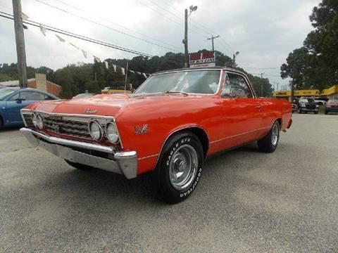 1967 Chevrolet El Camino for sale at Deer Park Auto Sales Corp in Newport News VA