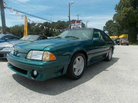 1992 Ford Mustang for sale at Deer Park Auto Sales Corp in Newport News VA