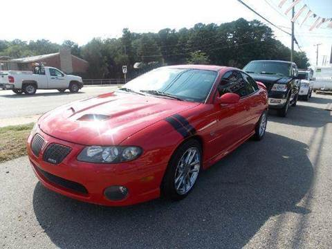 2005 Pontiac GTO for sale at Deer Park Auto Sales Corp in Newport News VA