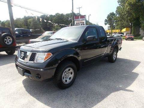 2006 Nissan Frontier for sale at Deer Park Auto Sales Corp in Newport News VA