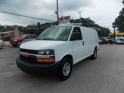2009 Chevrolet Express Cargo for sale at Deer Park Auto Sales Corp in Newport News VA