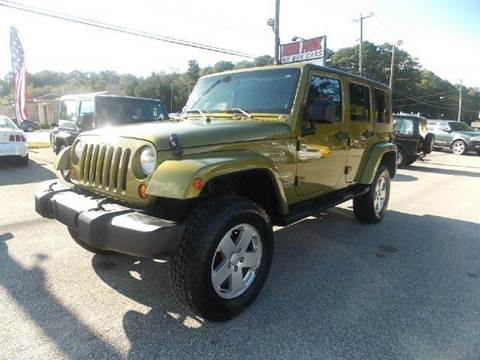 2007 Jeep Wrangler Unlimited for sale at Deer Park Auto Sales Corp in Newport News VA