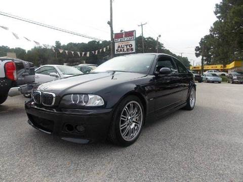 2002 BMW M3 for sale at Deer Park Auto Sales Corp in Newport News VA