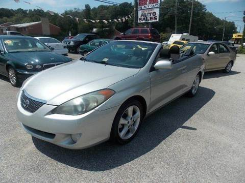 2006 Toyota Camry Solara for sale at Deer Park Auto Sales Corp in Newport News VA