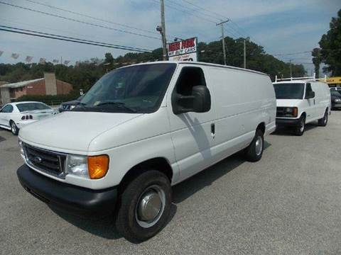 2006 Ford E-Series Cargo for sale at Deer Park Auto Sales Corp in Newport News VA