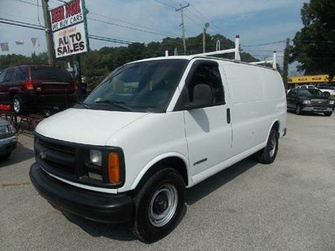 1999 Chevrolet Express Cargo for sale at Deer Park Auto Sales Corp in Newport News VA