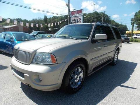 2004 Lincoln Navigator for sale at Deer Park Auto Sales Corp in Newport News VA
