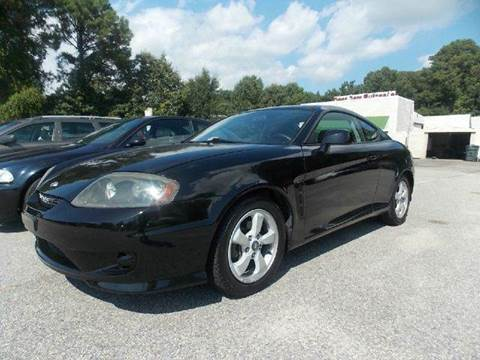 2005 Hyundai Tiburon for sale at Deer Park Auto Sales Corp in Newport News VA