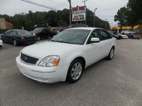 2005 Ford Five Hundred for sale at Deer Park Auto Sales Corp in Newport News VA