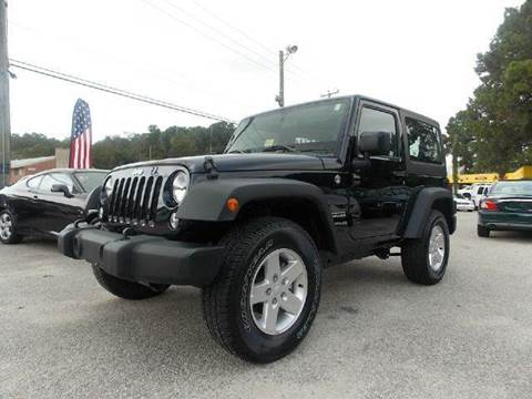 2014 Jeep Wrangler for sale at Deer Park Auto Sales Corp in Newport News VA