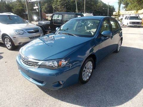 2008 Subaru Impreza for sale at Deer Park Auto Sales Corp in Newport News VA